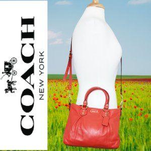 Coach Ashley Flawless Leather Mini Tote/Crossbody